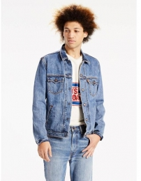 Levis chaqueta de ganga orange tab trucker
