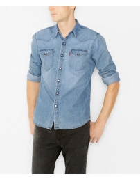 Levis camisa barstow western red cast stone