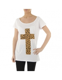 T.amo t.amo camiseta gold cross
