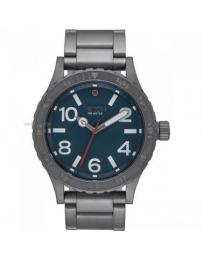 Nixon 46 all gunmetal / dark blue