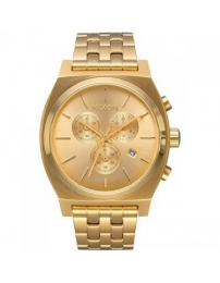 Nixon time teller chrono all gold
