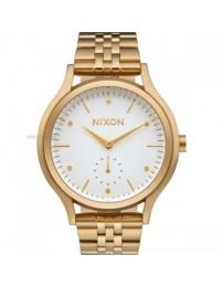 Nixon sala gold/white