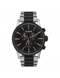 Nixon sentry chrono black - a386-2051