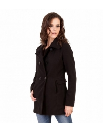 Overcoat miss sheriff preto