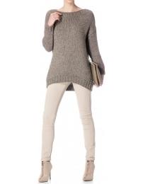 Scripta knit sweatshirter
