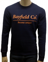 Bayfield co.sweatshirt crewneck estampado