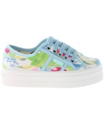 Victoria football sneakers turfplataforma chandal estampado floral jr