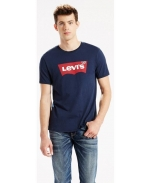Levis t-shirt graphic set in neck
