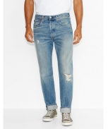 Levis calça ganga 501 costumized tapered red church