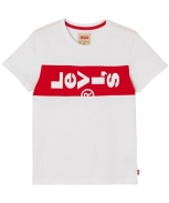 Levis t-shirt horizontal logo jr