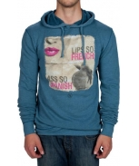 Boombap ass lip hoodie r-neck man