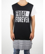 Boombap forever-g tee r-neck long laser cut men