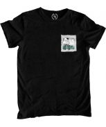 Boombap letme tee r-neck pocket