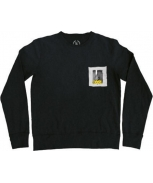 Boombap beware sweatshirt pocket r-neck
