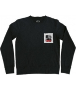 Boombap call sweatshirt pocket r-neck