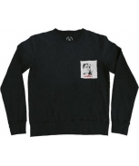 Boombap duckface sweatshirt pocket r-neck