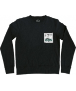 Boombap letme sweatshirt pocket r-neck