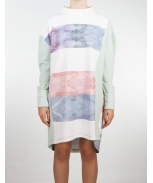 Boombap frozen sweatshirt dress