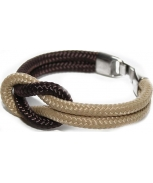 Cabo d'mar reef knot brown/cream