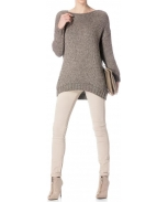 Scripta knit sweater
