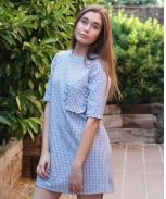 Lima limão dress bolso