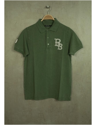 Boombap fadeout polo shirt shirts mc - 100% co
