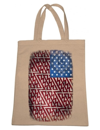 Boombap fleece bag flag usa