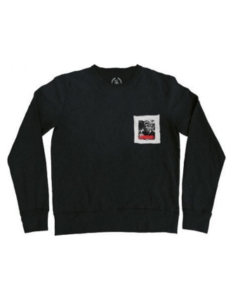 Boombap call sweat pocket r-neck