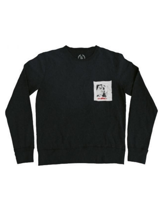Boombap duckface sweat pocket r-neck