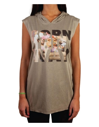 Boombap born dress capuche  women