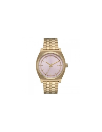 Nixon tme teller light gold/pink