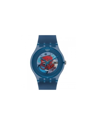 Swatch ss12 blue grey lacquered suon102