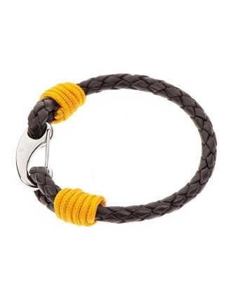 Cabo d'mar atlantic ocean leather/ yellow