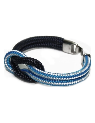 Cabo d'mar reef knot navy/blue mix
