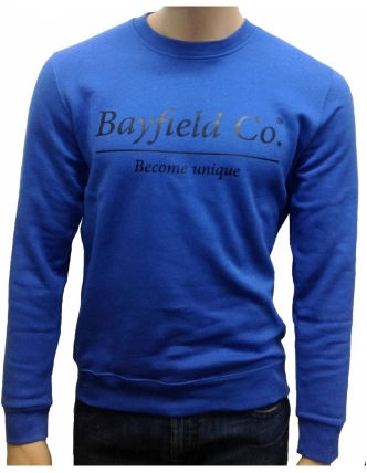 Bayfield co.sweat crewneck bordado